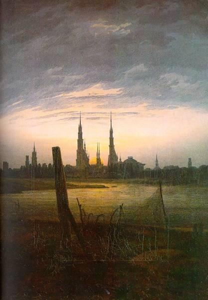 City at Moonrise CGF